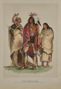 George Catlin, Catlin's North American Indian Portfolio.  New York: James Ackerman, 1845.  Printed by R.  Craighead.  First American edition (first issue).  Est.  $100,000-200,000.