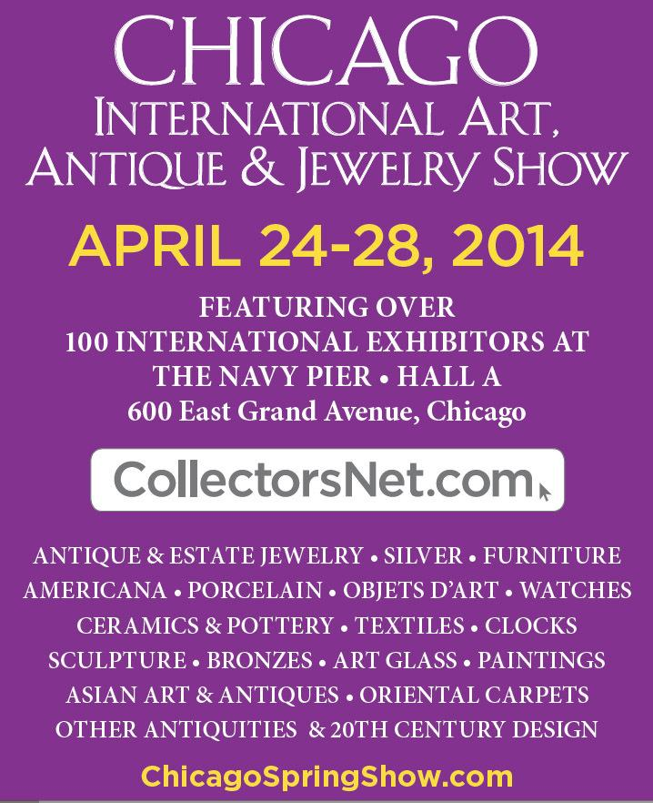 Palm Beach Show Group Unveils Inaugural Chicago International Art Antique Jewlery April 24 28 2018