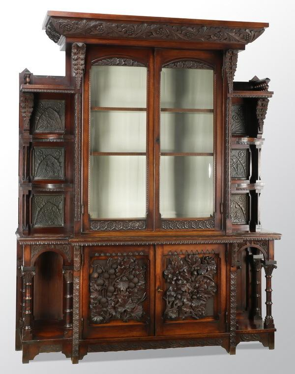 Cincinnati Art Carved Cabinet Becomes A Family Affair, Sells For $7,400 At  Great Gatsbyu0027s In Atlanta