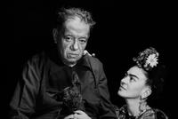 Diego Rivera and Frida Kahlo Mexico City, 1952 Courtesy of the Marcel Sternberger Collection.  Copyright Stephan Loewentheil 2016