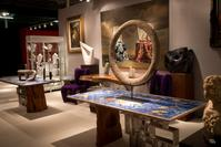 Booth of Muzeion at the 2012 Dallas International Art, Antique & Jewelry Show