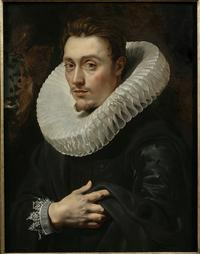 Portrait of a Young Man, c.  1613–15, by Peter Paul Rubens.  Oil on panel.  Private collection.