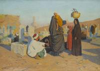 Ludwig Deutsch, Early Morning, 'Id el-fitr (estimate: $250,000-350,000),