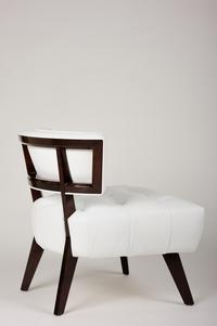 one of a set of four William Haines Hostess chair
