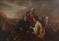 'Joseph's Family's Departure from Egypt,' Dutch School, Oil on Canvas on Board, 17th Century