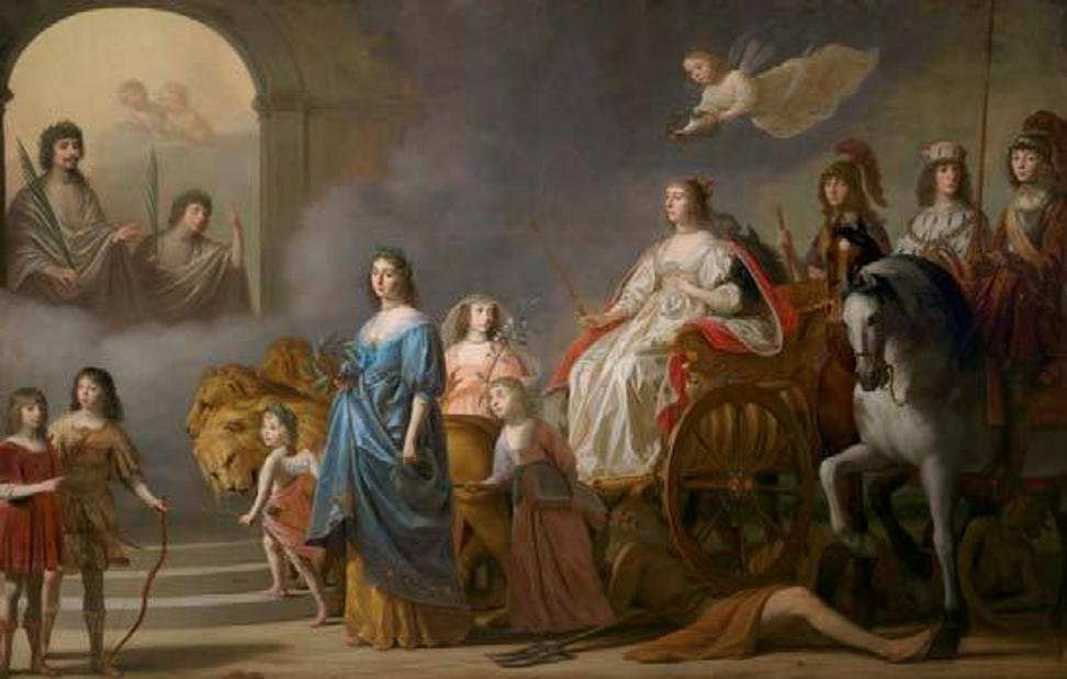 Triumph of the Winter Queen: Allegory of the Just, 1636, Gerrit van Honthorst.