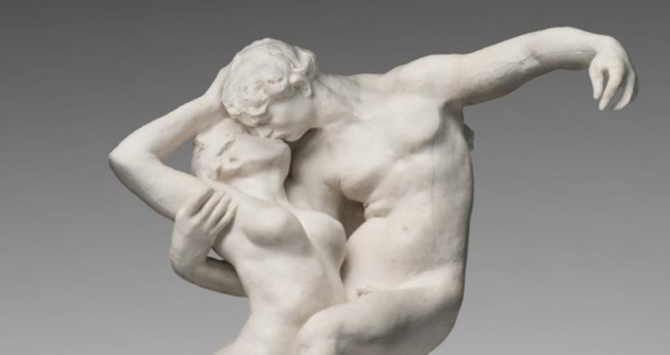 Detail of Eternal Springtime, modeled 1884, cast 1885, by Auguste Rodin