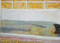 Pierre Bonnard, Baignoire (Le Bain), 1925, The Bath.  Oil on canvas, 86 × 120.6 cm.  Tate, presented by Lord Ivor-Spencer-Churchill through the Contemporary Art Society 1930.
