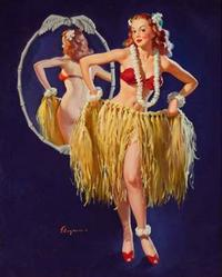 Heritage's March 1-2 auction will feature a large group of Gil Elvgren paintings; great examples from masters of the form including Alberto Vargas, Earl Moran, Charles Addams and many more.