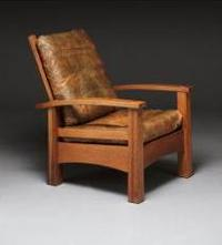 Gustav Stickley, Reclining Chair No.  336, c.  1901–02