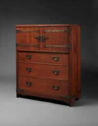 Gustav Stickley, Linen Chest, c.  1902–03