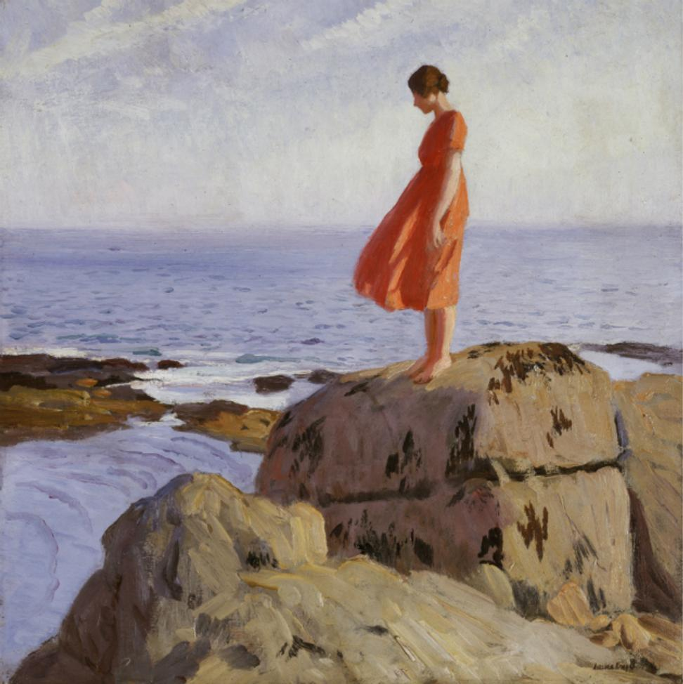 Dame Laura Knight, The Dark Pool, 1908 - 1918, Laing Art Gallery, Newcastle © Reproduced with permission of The Estate of Dame Laura Knight DBE RA 2018.  All Rights Reserved
