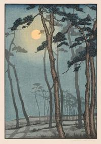 Yoshijiro Urushibara, The Pines, c.  1928.