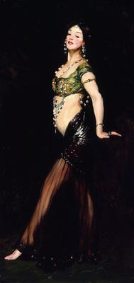 Salome by Robert Henri (1909), oil on canvas