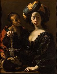 Judith with the Head of Holofernes by Francesco Cairo (ca.  1633–37), oil on canvas