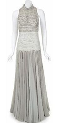 Vintage Christian Dior gown worn by Princess Diana (estimate: $10,000-20,000) at Julien's Hollywood Legends auction, March 31-April 1, 2012..