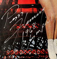 Peggy Fleming-signed ephemera will be offered at Clars' auction on Feb.  16