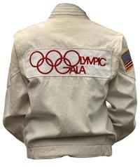 Peggy Fleming's official Olympic team jackets are offered at Clars.