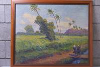 Horatio Nelson Poole painting sold for $23,875 at Witherell's Western Design Auction