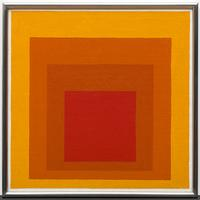 Josef Albers (1888-1976), Study for Homage to the Square: Closing, 1964.  Acrylic on Masonite.  Solomon R.  Guggenheim Museum, New York, Gift of the artist, 1969