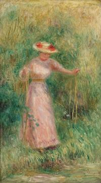 """La Balancoire"" by Pierre-August Renoir (1895)."