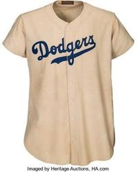 Online bidder went to $2 million for Jackie Robinson's 1947 Brooklyn Dodgers rookie jersey at Heritage Auctions.
