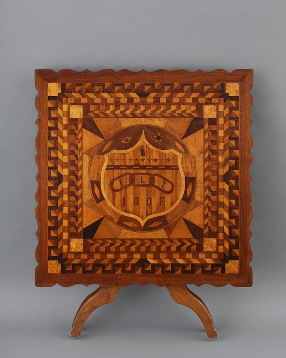 First Exhibition To Document Artistry Of Fraternal Orders Opens