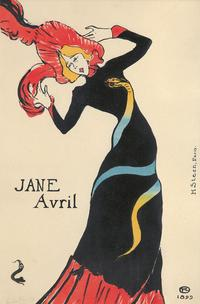 Jane Avril (1899), by the French illustrator Henri de Toulouse-Lautrec (1864-1901), sold for $180,000 at Poster Auctions International, Inc., in October 2015.