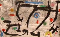 Sims Reed Gallery sold a Joan Miro – Trace sur la Paroi III - for £20,000.
