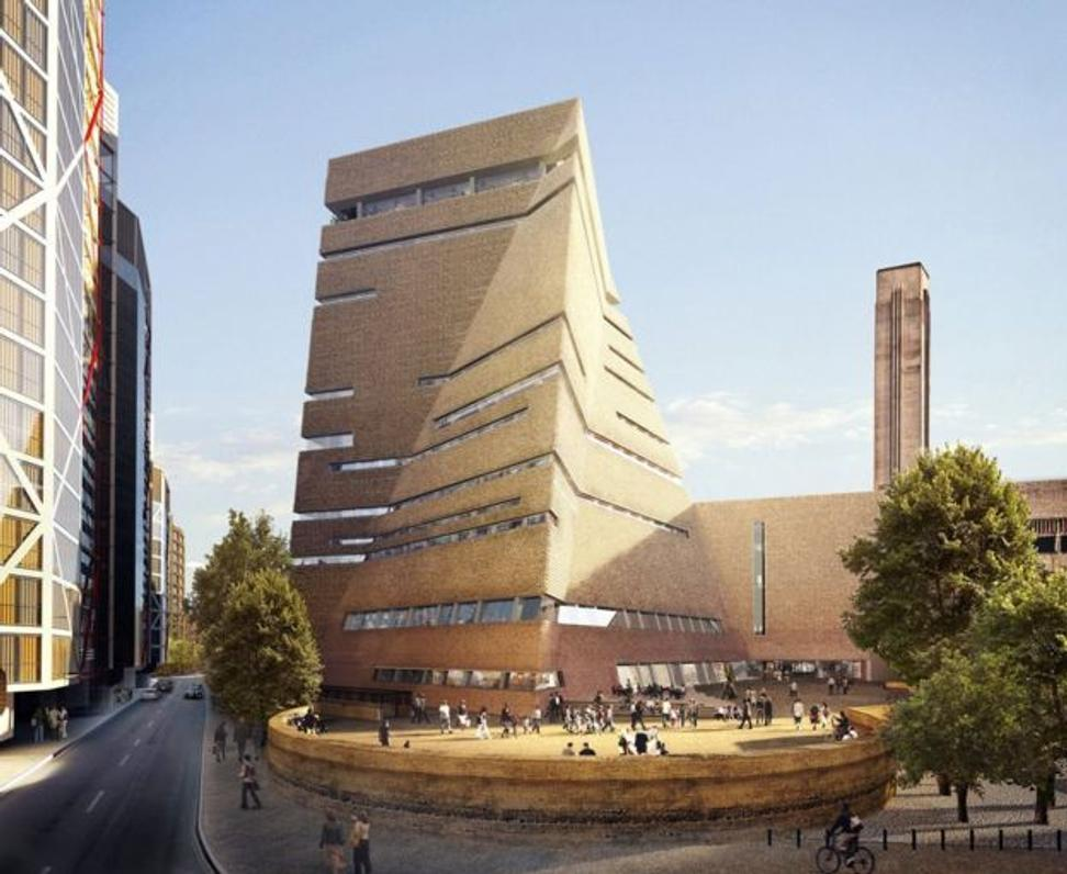Tate Moderns Towering New Building Opens Friday - Artwire ...