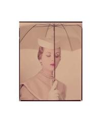 Original photograph, Erwin Blumenfeld, Alternate of the Vogue U.S.A.  cover, March 15th, 1950 © The Estate of Erwin Blumenfeld.  Courtesy of the Nicéphore Niépce Museum, Chalon sur Saône, France.