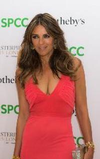 Liz Hurley at Masterpiece London 2015