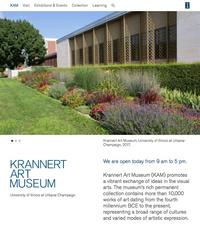 Krannert Art Museum recently expanded its website, providing access to its art collection online.