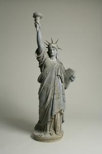 Statue of Liberty commissioned by Frederic Auguste Bartholdi (French, 1834-1904)