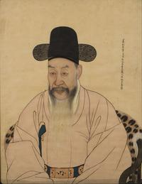 Korean Court Portrait from the Goryeo Dynasty