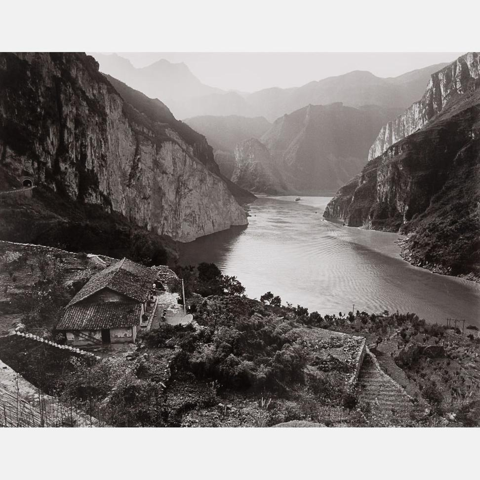 Lot 13 – Linda Butler, Yangtze Overlook, Xiling Gorge, 2000
