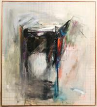 Oil on canvas painting by Paul Brach (Am., 1924-2007), titled Chamber (est.  $3,000-$5,000).