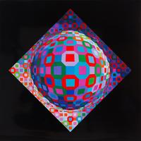Lot 361 – Victor Vasarely, (1906-1997) - Planetary