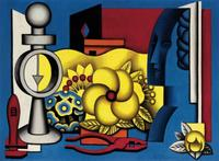 Jean Metzinger (French, 1883-1956), Nature Morte, circa 1929, Signed, inscribed and numbered, Oil on canvas, 23 3/4 x 32 inches.  Estimate: $80,000-120,000.