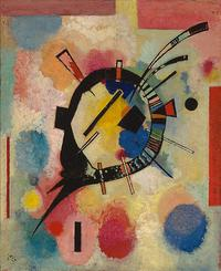 Wassily Kandinsky, Gelbe Mitte, 1926, oil on canvas, 62 x 54 cm (incl.  frame).  Museum Boijmans Van Beuningen, Rotterdam.  Photo: Studio Tromp.