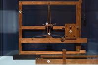 An early telegraph prototype by Samuel Morse, using artist canvas stretcher bars, on loan to Reynolda House Museum of American Art from Smithsonian's National Museum of American History.
