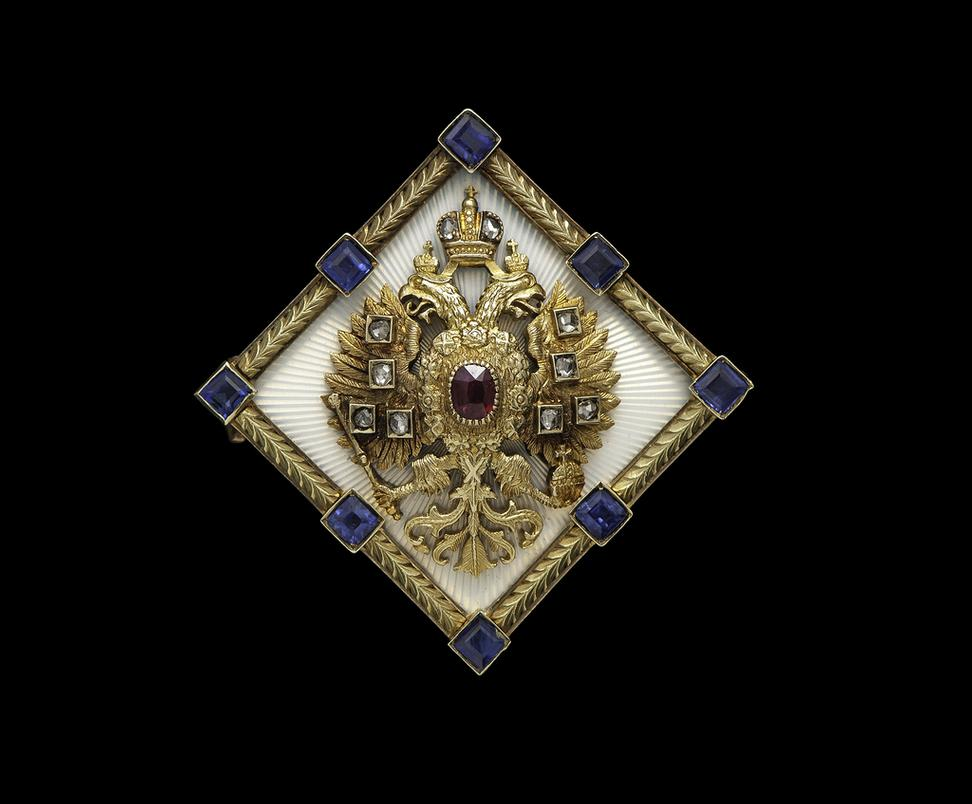 is features diamond works in romance christie faberg the jewel amethyst this offered brooch of work by estimate s real circa a art our and faberge silver russian gold important