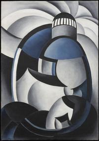 Ida Ten Eyck O'Keeffe, Variation on a Lighthouse Theme II, c.  1932, Private Collection