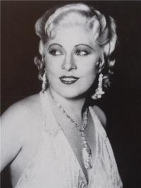 "News photo of Mae West taken by L.A.  Times.  Reprinted in book High Exposure, ""Found Photos from the Archives of the L.A.  Times."""