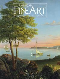 Cover of American Fine Art Magazine, May/June 2012.