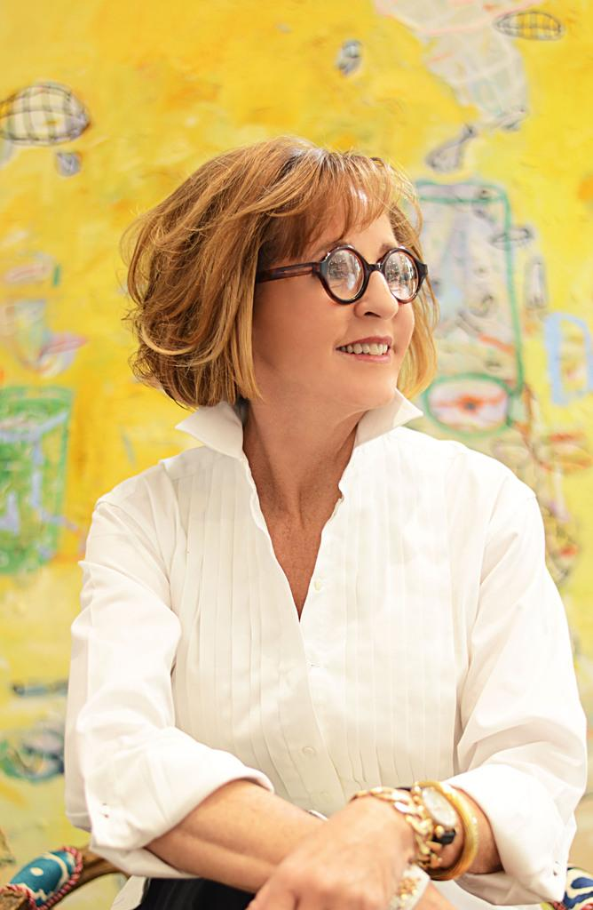 Designer Gil Walsh To Feature Nancy Lorenz Work At
