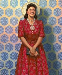 """Henrietta Lacks (HeLa): The Mother of Modern Medicine"" by Kadir Nelson, oil on linen, 2017.  Collection of the Smithsonian National Portrait Gallery and National Museum of African American History and Culture, Gift from Kadir Nelson and the JKBN Group LLC."