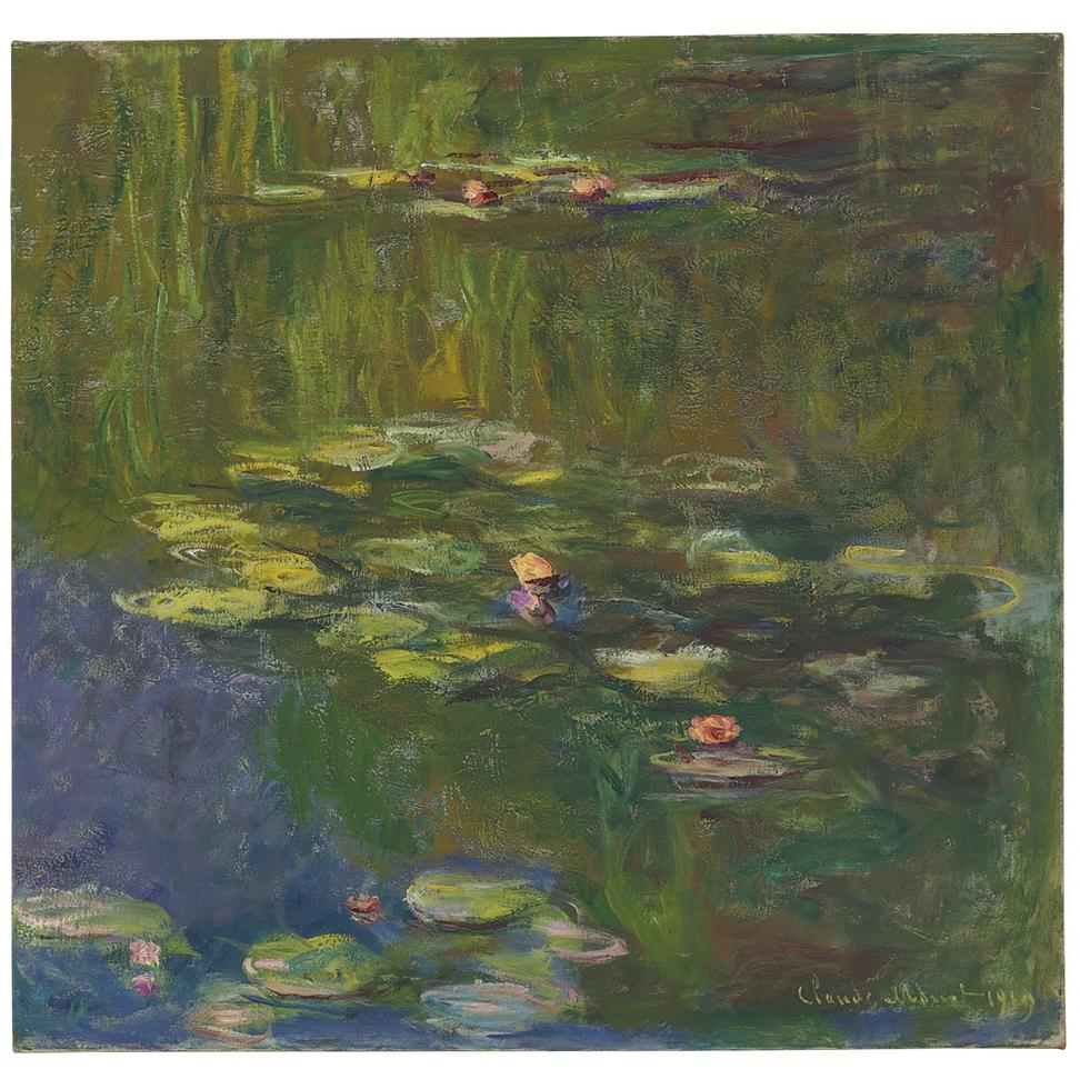 Christie s impressionist and modern art evening sale on may 12 artwire pres - Le bassin aux nympheas ...