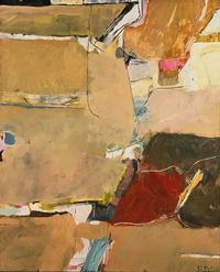 Richard Diebenkorn, Berkeley No.  12, 1955.  Oil on canvas, 53 1⁄4 x 43 1⁄4 inches.  The Phillips Collection, Washington, D.C.  Gift of Judith H.  Miller, 1990 © The Richard Diebenkorn Foundation