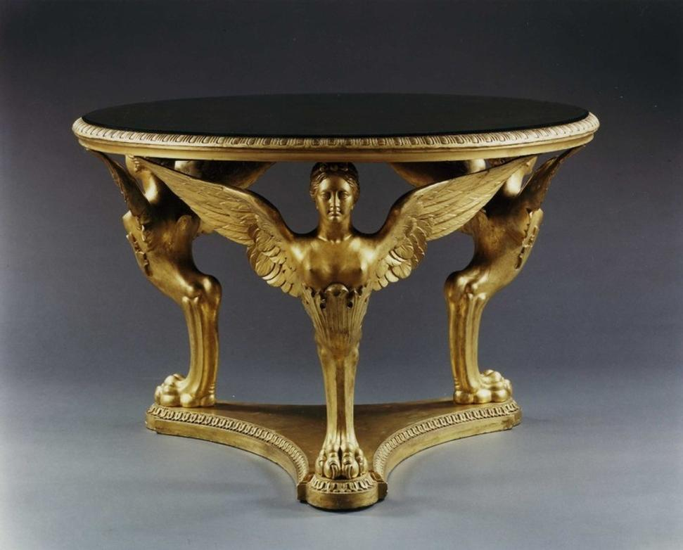 THE BUCKINGHAM PALACE CENTER TABLE ATTRIBUTED TO GEORGE MORANT AND SONS,  English, circa 1840 - CARLTON HOBBS PRESENTS INSPIRED BY ANTIQUITY: CLASSICAL INFLUENCES